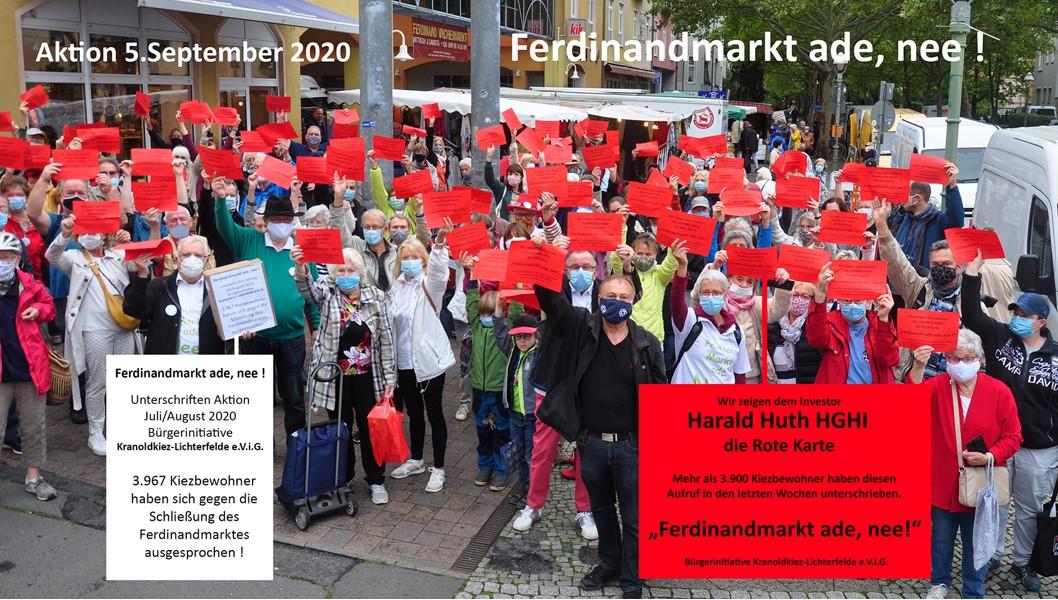 Wie zeigen Huth die Rote Karte 5.9.2020 11:00 Uhr